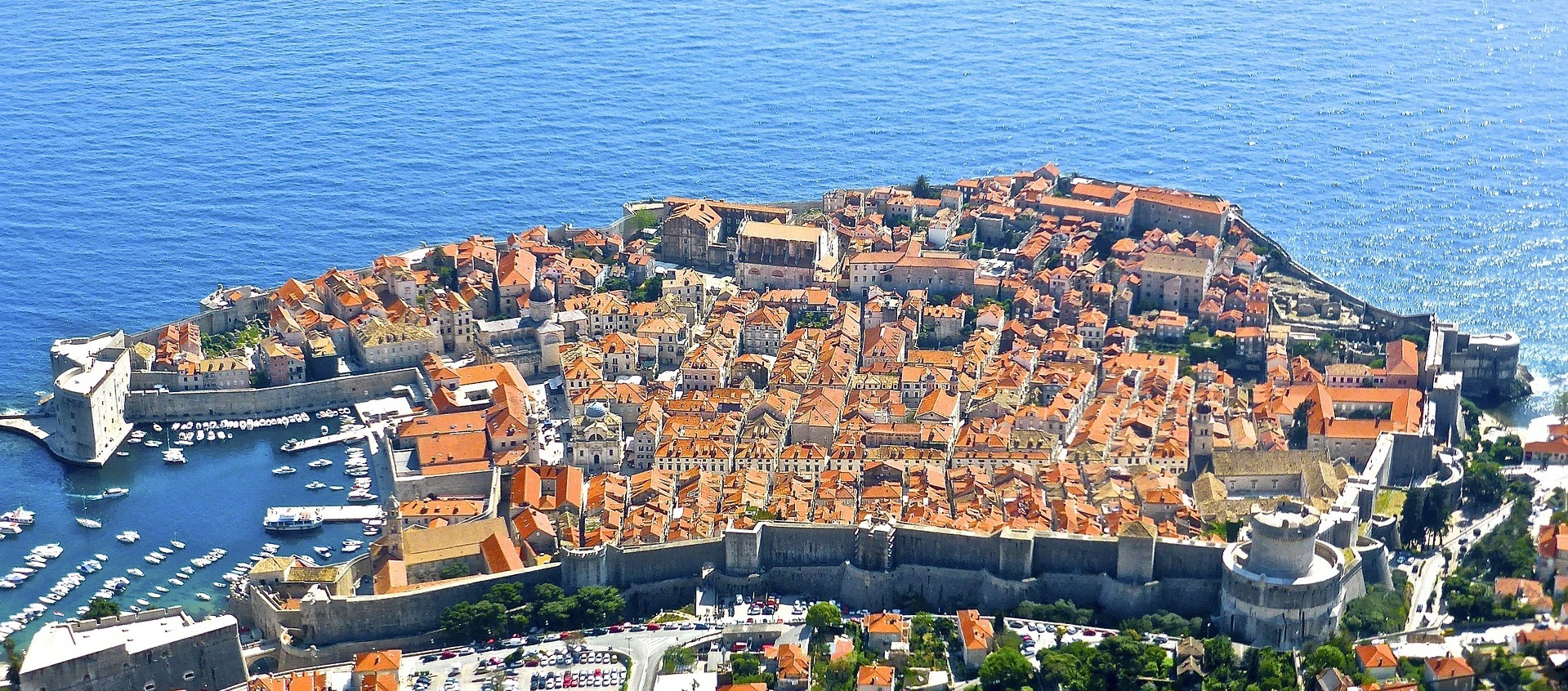 dubrovnik panorama old town