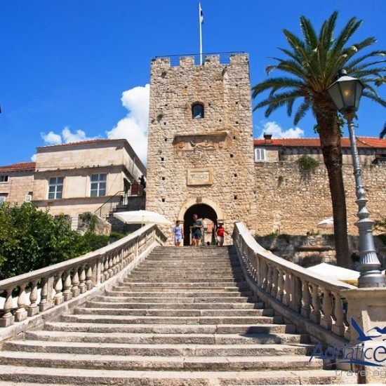 korcula stairs tour
