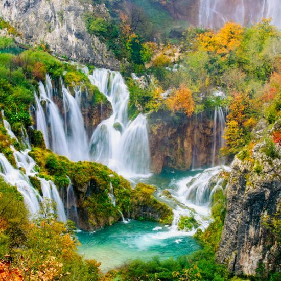 plitvice in autumn